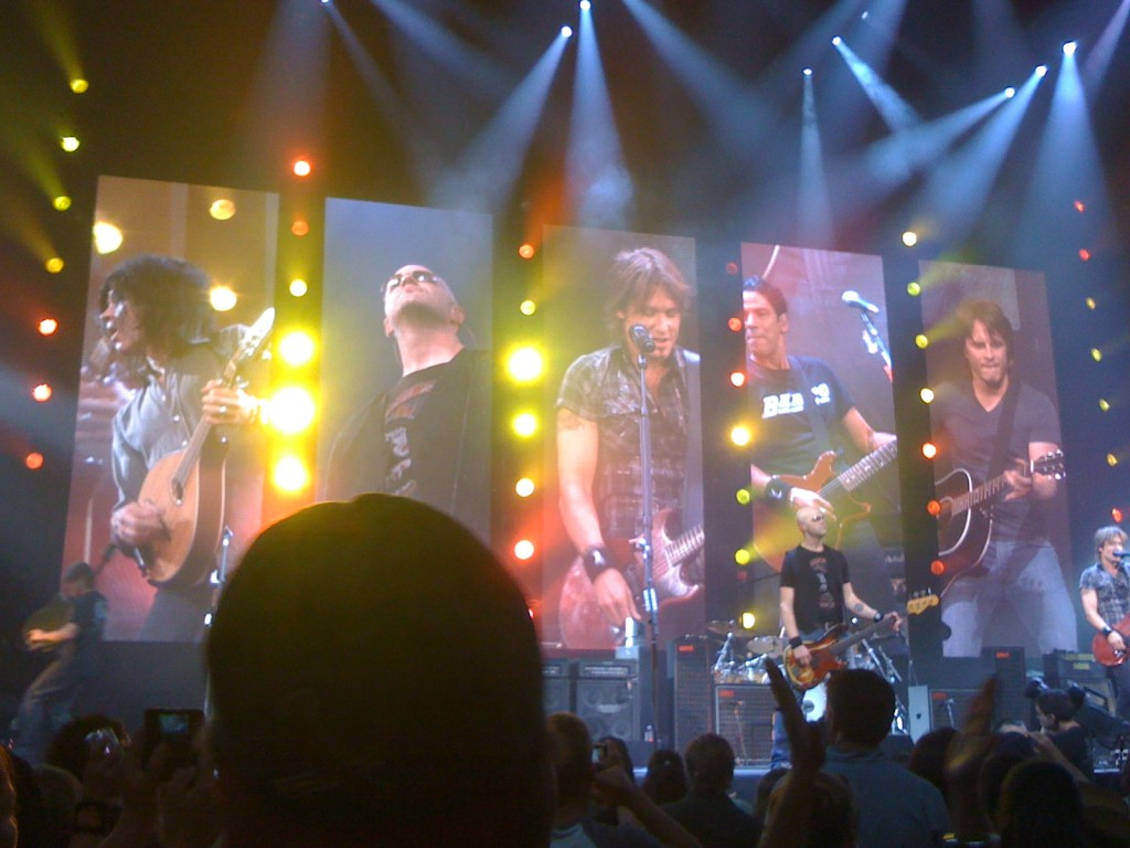 Keith Urban concert photo
